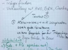 Dorferneuerung Wallgau Flipchart am 10.11.2014 Tagespflege
