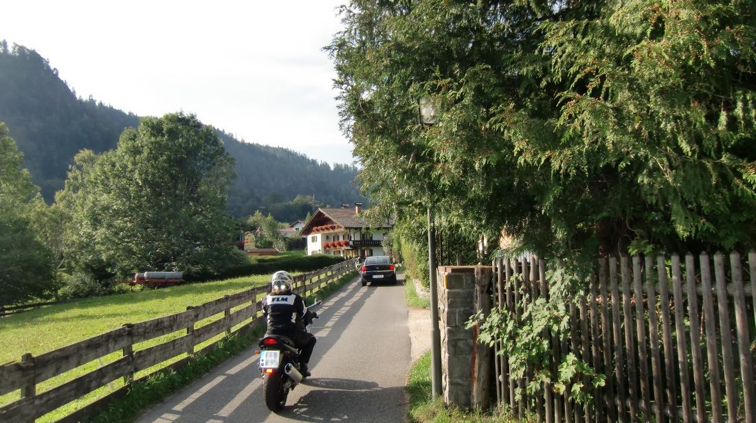 Engstelle an der Rissser Straße