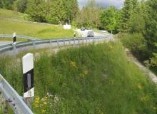 Wallgau Umfahrung Risser Strasse im Juni 2016