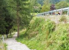 Wallgau Umfahrung Risser Strasse im August 2016