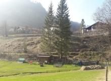 Wallgau Umfahrung Risser Strasse im März 2017