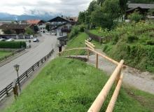 01.09.2015 neuer Steig zum Prarrhaus Wallgau neuer Steig