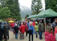 Bauernmarkt in Wallgau am 06.09.2015 an der Bauernbar