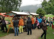Bauernmarkt in Wallgau am 06.09.2015 Speis und Trank