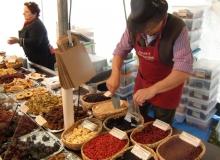 Bauernmarkt in Wallgau am 06.09.2015 nützliches aus Filz