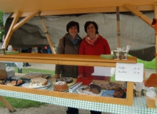 Bauernmarkt in Wallgau am 06.09.2015 selbstgemachte Kuchen
