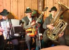 Bauernmarkt in Wallgau am 06.09.2015 Die 3-einigen Musikanten
