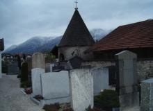 neues Dach für Lourdesgrotte Wallgau 08.10.2015