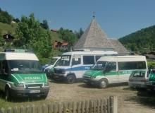 Nutzung des Parkplatzes während des G7 Gipfels