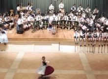 Trachtenjahrtag d'Simetsbergler Wallgau 01.05.2016. Die Musikkapelle Wallgau sorgt für die musikalische Umrahmung