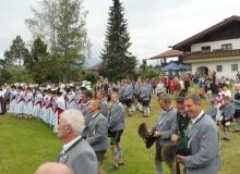 17.07.2016 Wallgauer Trachtler feiern mit den Krünern