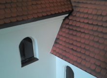 Kirche St. Jakob als Modell 1:15 von Bernhard Rieger aus Wallgau