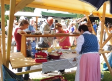 Bauernmarkt im Wallgauer Kurpark am 04.09.2016