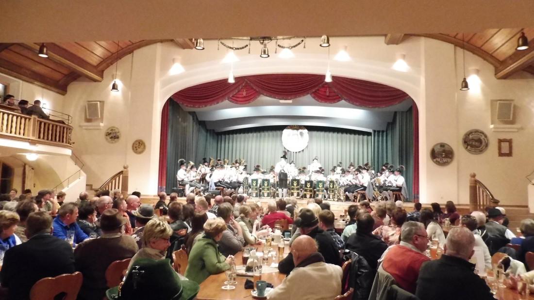Jahresabschlusskonzert der Musikkapelle Wallgau am 29.12.2016