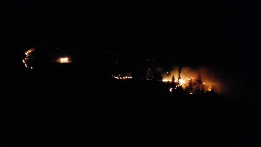Waldbrand am Krepelschorfen