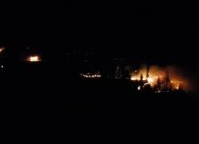 31.12.2016 Waldbrand am Krepelschroffen bei Wallgau