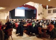 Dorferneuerung Wallgau: Ca. 105 interessierte Bürger sind ins Haus des Gastes gekommen