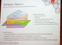 Dorferneuerung Wallgau: Dorfplatz Option 1