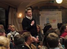 Dorferneuerung Wallgau: Ärztin Fr. Diener spricht über das Gesundheitskonzept