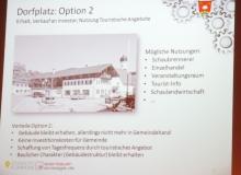 Dorferneuerung Wallgau: Dorfplatz Option 2