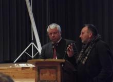 Dorferneuerung Wallgau: Bürgermeister Zahler und Architekt Otto Kurz