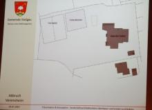 Dorferneuerung Wallgau: Wellnessgarten, Abbruch des Vereinsheimes