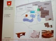 Dorferneuerung Wallgau: Wellnessgarten Zentralplatz