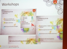 Workshops der Dorferneuerung in Wallgau