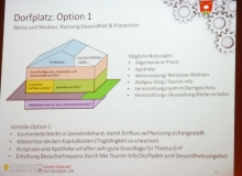 Dorferneuerung Wallgau: Dorfplatz Option 1