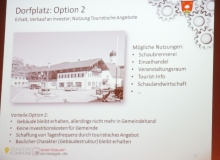 Dorferneuerung Wallgau: Dorfplatz Option 2