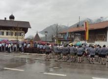 Trachtenjahrtag d'Simetsbergler Wallgau am 07.05.2017 Gedenken der gefallenen und vermissten Mitglieder der beiden Weltkriege