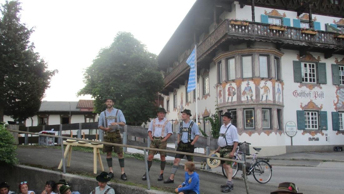 ESV-Wallgau Straßenturnier am 03.06.2017 Siegerehrung