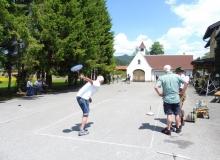 ESV-Wallgau Straßenturnier am 03.06.2017 Bahn an der Schule