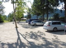 Neuer Parkplatz am Isarsteg in Wallgau ab August 2017