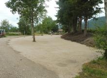 Neuer Parkplatz am Isarsteg in Wallgau ab August 2017