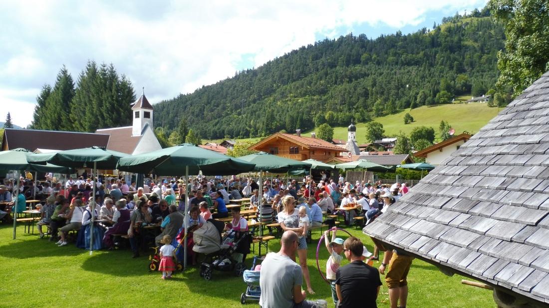 Parkfest am 13.08.2017 in Wallgau