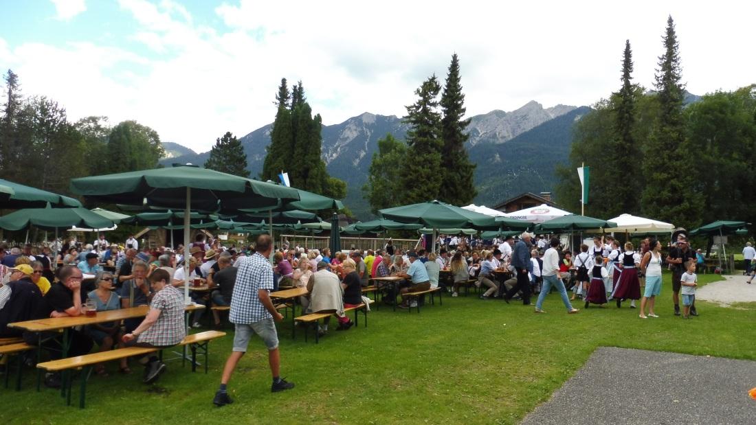 Parkfest am 13.08.2017 in Wallgau.
