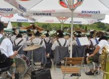 Parkfest am 13.08.2017 in Wallgau. Musikkapelle Wallgau