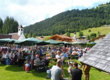 Parkfest am 13.08.2017 in Wallgau