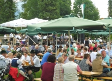 Parkfest am 13.08.2017 in Wallgau.