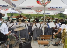 Parkfest am 13.08.2017 in Wallgau. Musikkapelle Wallgau