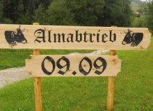 Almabtrieb in Wallgau am 09.09.2017