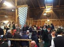 Herbstfest der Wallgauer Gebirgsschützen am 03.10.2017 im Denner im Kirchenböbl