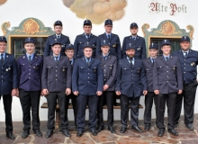 Ehrungen der Feuerwehr Wallgau bei der Jahreshauptversammlung am 08.10.2017