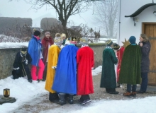 Sternsinger am 06.01.2018 in Wallgau