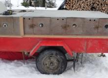 Schlittenhunderennen am 24. und 25.02.2018 in Wallgau. Kaltschnäuzig.