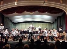 18.04.2018 Benefizkonzert des Gebirgsmusikkorps in Wallgau. Trompetensole von Oberfeldwebel Valentin Köblitz