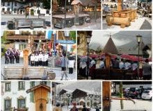 Brunnen auf dem Wallgauer Dorfplatz
