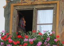 Fenster Posthotel Wallgau