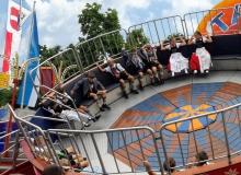 Junge Trachtler beim Gaujugendfest in Garmisch 2019